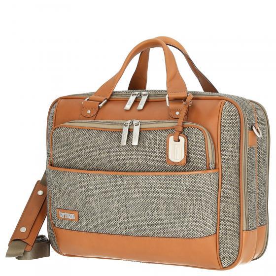 Tweed Belting Aktentasche mit Laptopfach L 43 cm