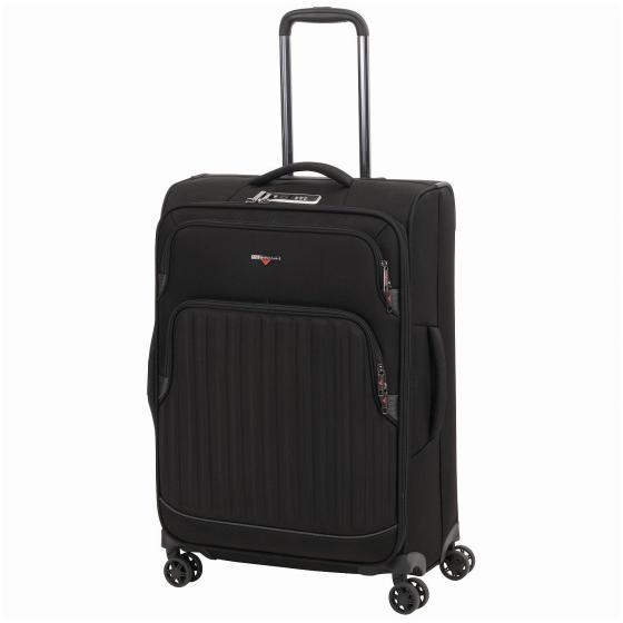 Profile Plus Soft 4-Rollen-Trolley 65 cm M schwarz