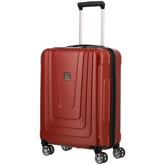X-Ray 4-Rollen-Kabinentrolley 55 cm Modell 2020 atomic red