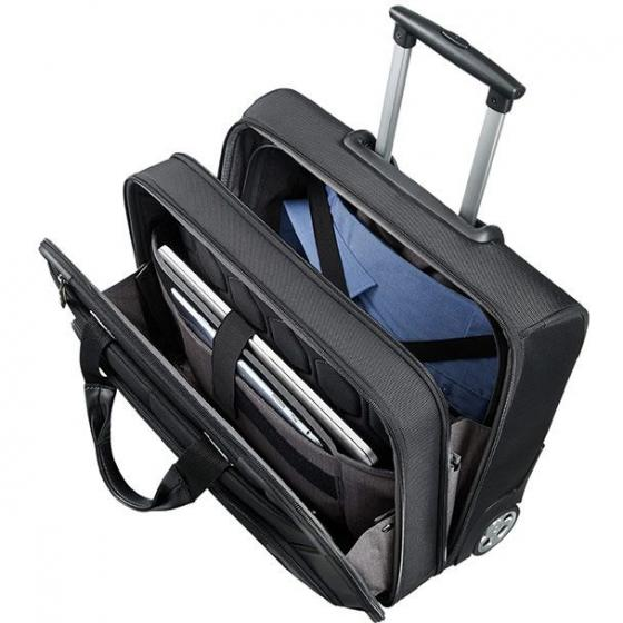 "XBR 2-Rollen-Businesstrolley 15.6"" black"