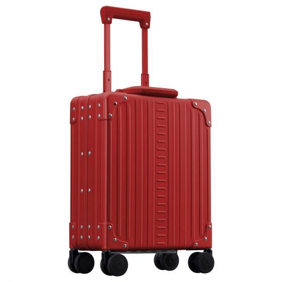 "Aluminium 2-Rollen-Businesstrolley Vertikal 13"" 41.7 cm ruby"