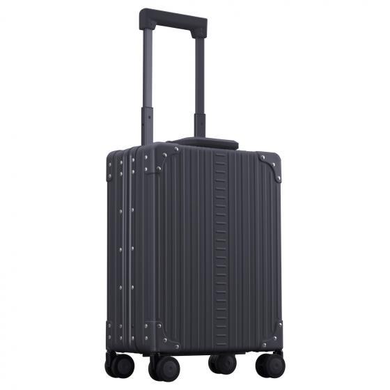 "Aluminium 2-Rollen-Businesstrolley Vertikal 15"" 49.5 cm onyx"