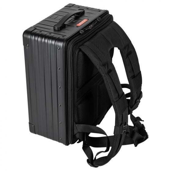 "Hybrid Backpack / 17"" Business Laptoprucksack 42 cm onyx"