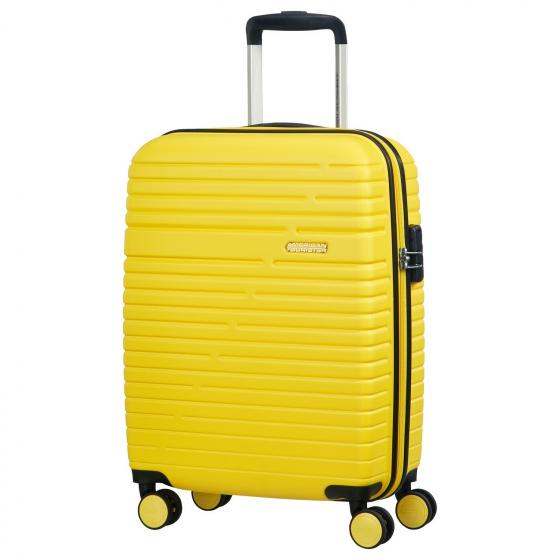 Aero Racer 4-Rollen-Kabinentrolley S 55/20 cm lemon yellow