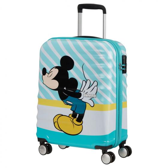 Wavebreaker Disney 4-Rollen-Kabinentrolley S 55 cm mickey blue kiss