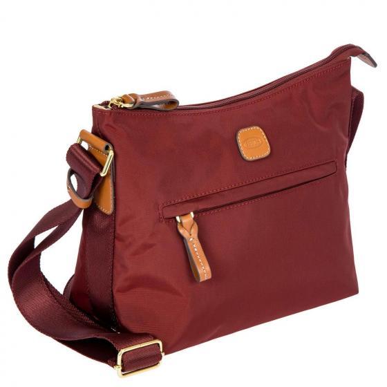 X-Bag Schultertasche 25 cm bordeaux