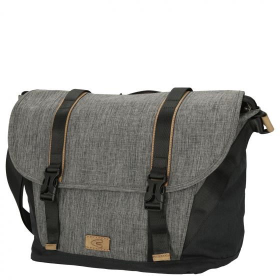 Indonesia Messenger Bag 39 cm grau
