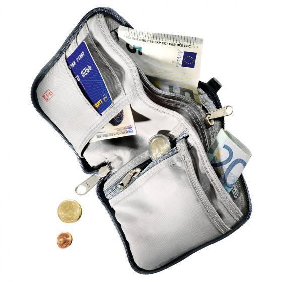 Zip Wallet Geldbörse RFID Block 13 cm bay