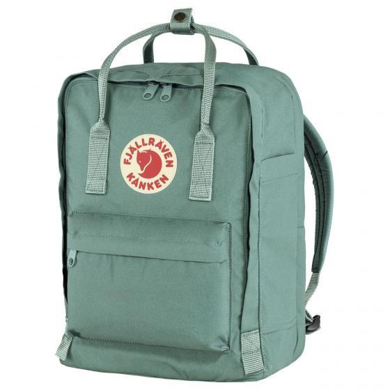 "Kanken Rucksack Laptop 13"" 35 cm frost green"