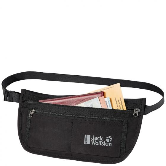 Document Belt RFID Gürteltasche 27 cm black