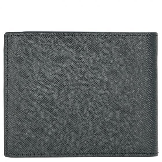 Sartorial Börse 6cc Querformat 11,5 cm blau