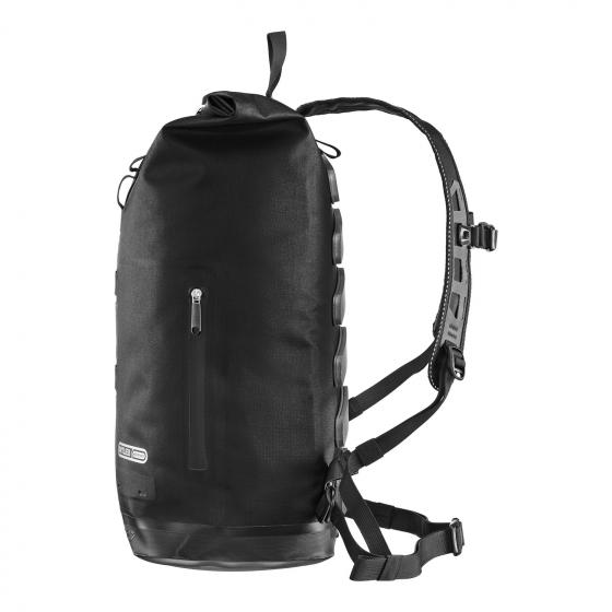 Commuter Daypack City 27 Rolltop Rucksack 50 cm black