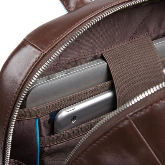 B2S Laptoprucksack mit iPad-Fach RFID 43 cm 15.6'' dark brown