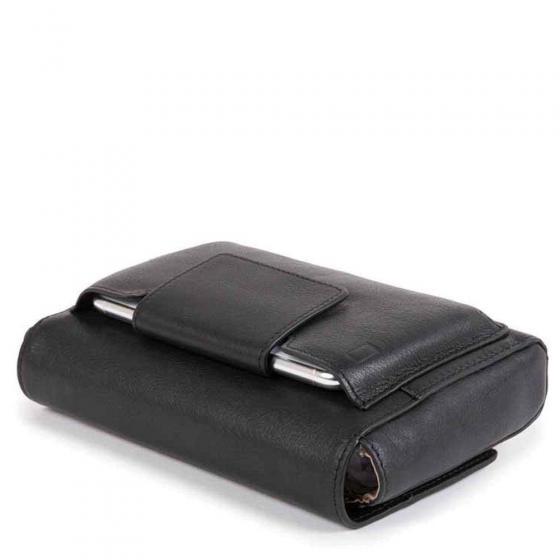 W Dafne Clutch RFID 19 cm black