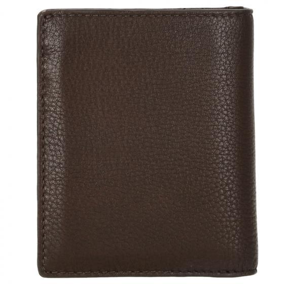 Business Billfold 6 Geldbörse RFID 9.5 cm dark brown