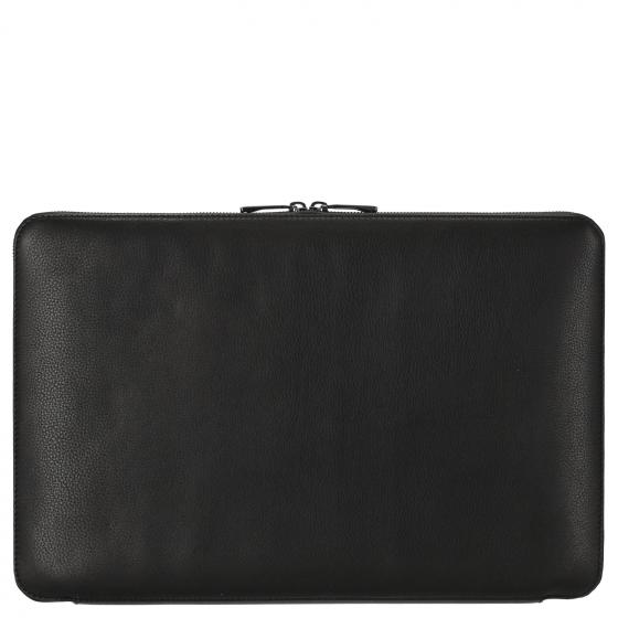 Roadster Leather Notebook Sleeve 15'' 36 cm black