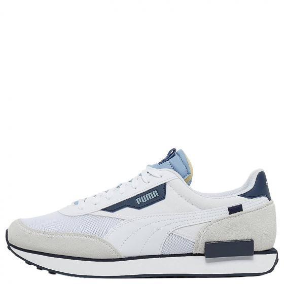 M Future Rider Sneaker Schuh 374038 46 | puma white/forever blue