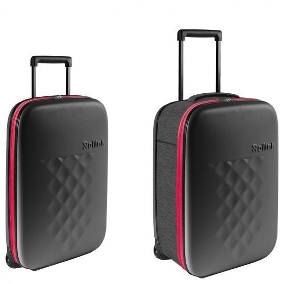 Flex21 Earth 2-Rollen-Kabinentrolley S 55 cm  (Polypropylen) grey pink