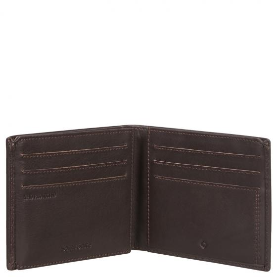 Attack 2 SLG Kreditkartenetui mit RFID 8.5 x 11 cm ebony brown