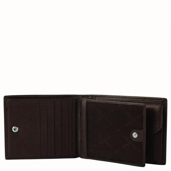 Attack 2 SLG Geldbörse mit Münzfach RFID 10 x 12.8 cm ebony brown