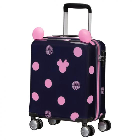 Color Funtime Disney 4-Rollen-Kindertrolley 45/16 cm Minnie Pink Dots