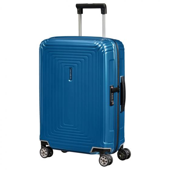 Neopulse 4-Rollen-Kabinentrolley S 55 cm metallic intense blue