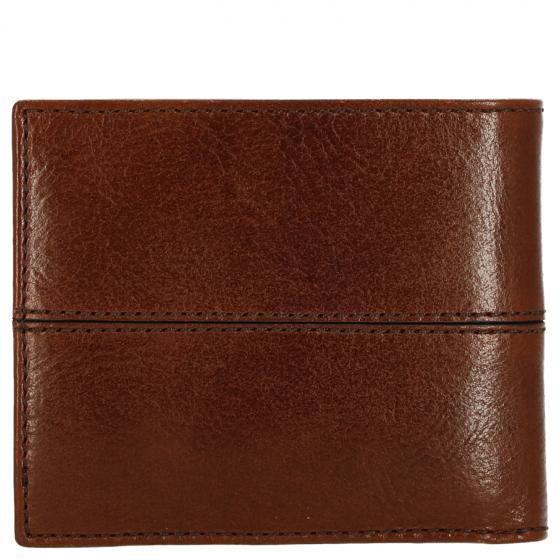Story Uomo Geldbörse Leder 11 cm brown