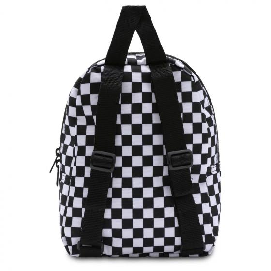 Got This Mini Backpack black-white checkerboard