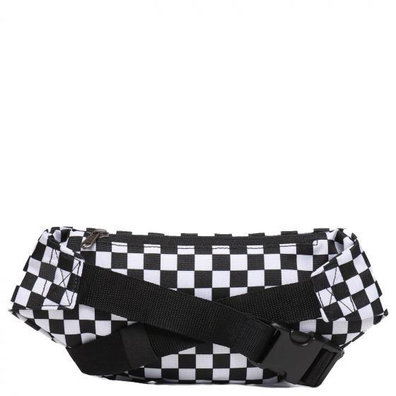 Mini Ward Cross Body Umhängetasche 38 cm black/white check