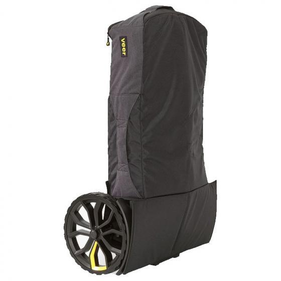 Transporttasche dunkelgrau / schwarz