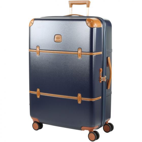 Bellagio 4-Rollen-Trolley 76 cm blue tobacco