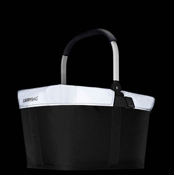 shopping carrybag cover / Regenhülle reflective