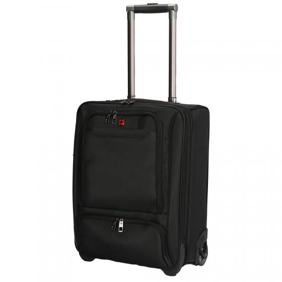 2-Rollen-Businesstrolley 50 cm black