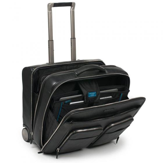 "Modus 2-Rollen Businesstrolley 45 cm 15,6"" black"