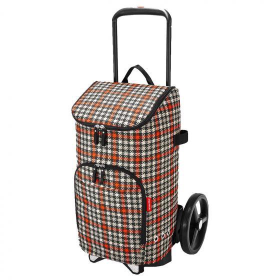citycruiser bag / Tasche 60 cm glencheck red