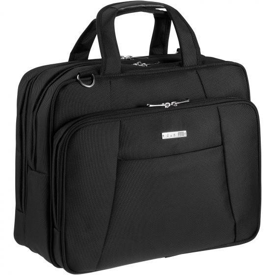 Basic Line Businesstasche mit Fächereinteilung 42 cm schwarz