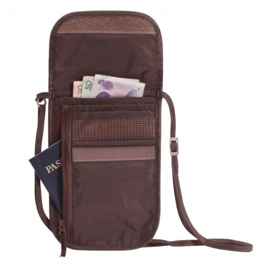 Reisezubehör (Travel Security) Undercover Neck Wallet DLX Brustbeutel 20 cm mocha
