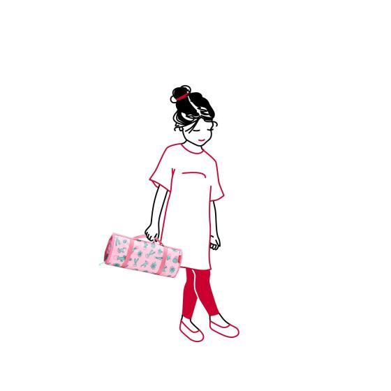 myorganizer / Kulturbeutel zum hängen 38 cm pink
