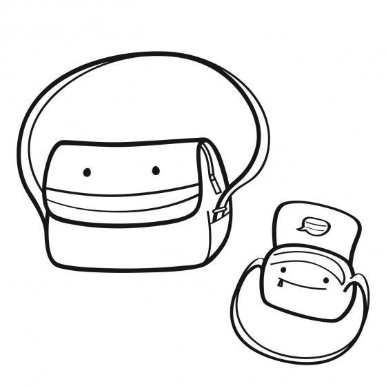 everydaybag / Kindertasche 20 cm navy