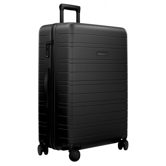 H7 Smart Check In 4-Rollen-Trolley 77 cm all black