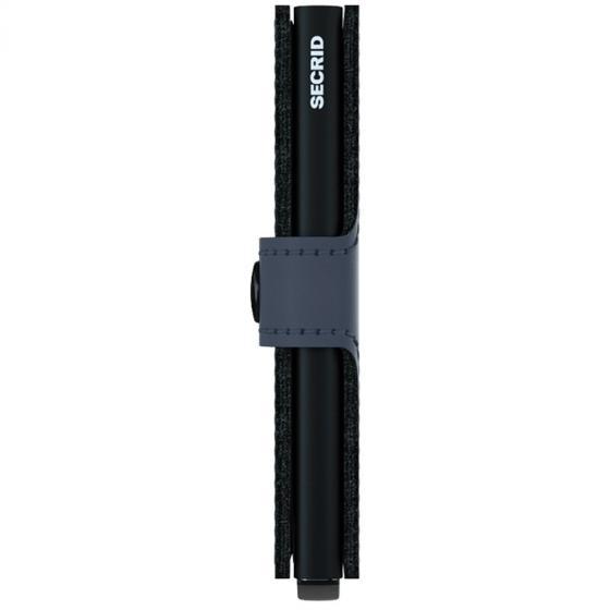Matte Miniwallet Börse mit RFID Schutz 6.5 cm night blue