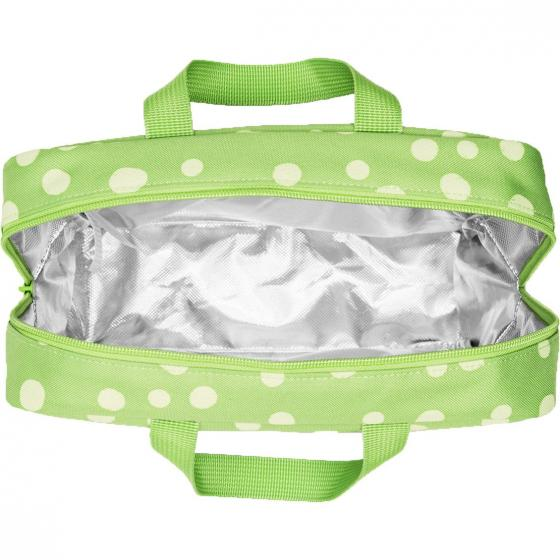 thermo Foodbox Iso m / Pausenbox 28 cm spots green
