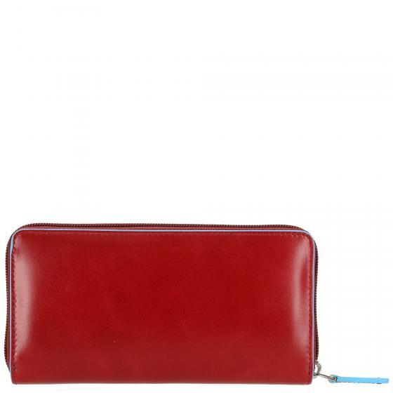 Blue Square Börse mit Reißverschluss 18 cm rosso