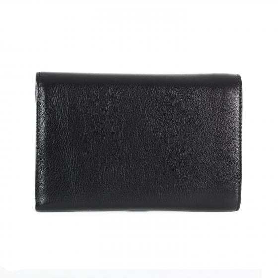 Bingo W Geldbörse Leder 14,5 cm schwarz