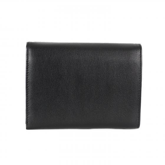 Bingo W Geldbörse Leder 12,5 cm schwarz