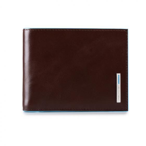 Blue Square Börse mit Kreditkartenfach 11.5 cm mahogany