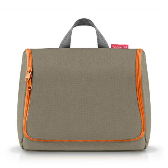 cosmetics toiletbag XL / Kulturbeutel 28 cm olive green