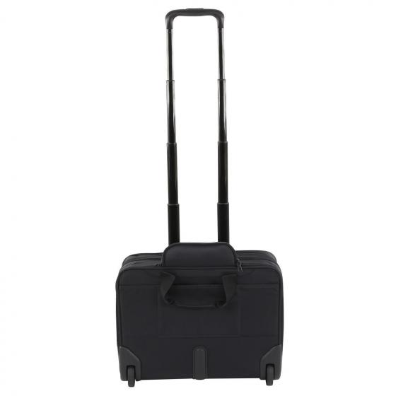 "Vectura Rolling Tote 2-Rollen Businesstrolley 46,5 cm 17,3"" schwarz"
