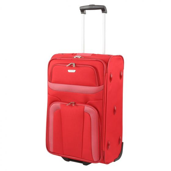 Orlando 2-Rollen-Trolley M 63 cm red