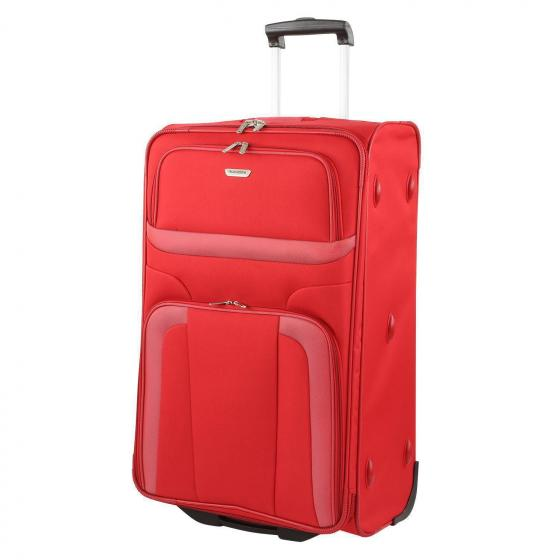 Orlando 2-Rollen-Trolley L 73 cm red